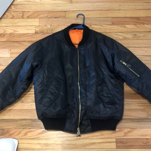 """Bomber Jacket with custom embroidery """"Nicky"""""""
